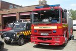 Emergency Services Day at Evesham Fire Station 8 August 2009