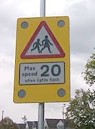 School 20mph temporary speed limit near a school in Redditch